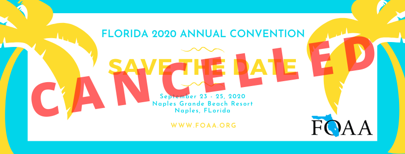 2020 Convention Save the Date! September 23-25